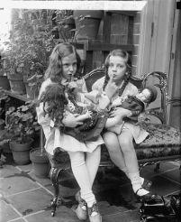 girls with dolls