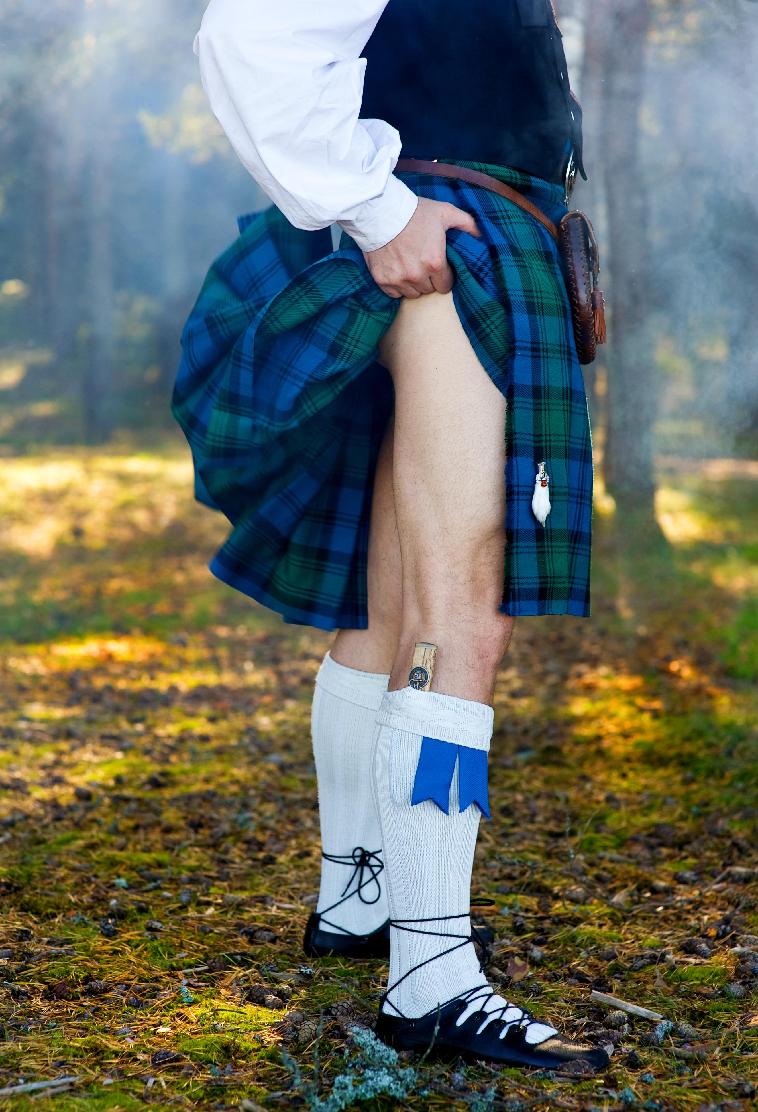Ever Wonder What's Under A Man's Kilt?